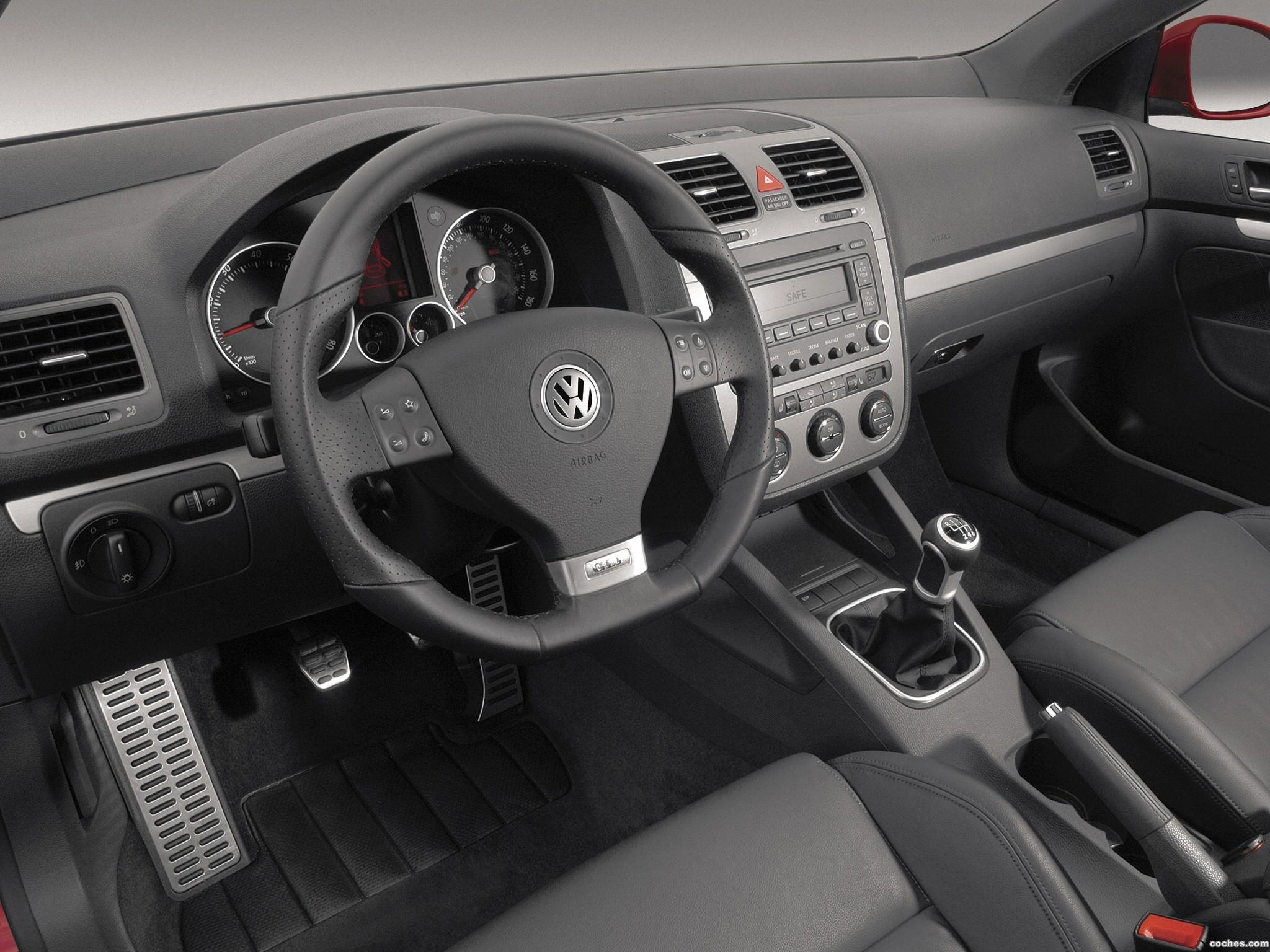 Volkswagen GLI 2006 - 2011 fotografía interior