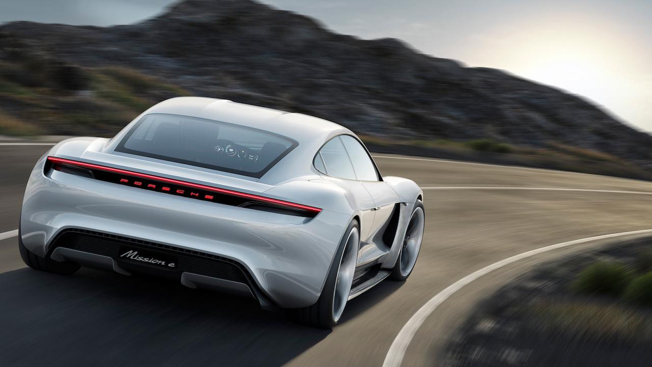 El concepto Porsche Mission E